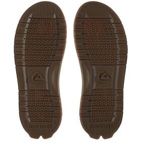 Quiksilver Coastal Excursion Sandals Men, negro/marrón